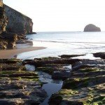 Trebarwith Strand near to Meadowview Cottage a luxury cottage Cornwall