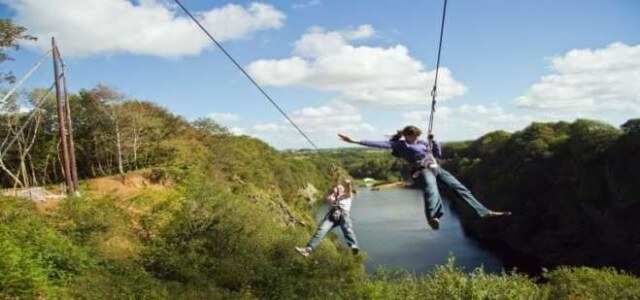 Adrenalin holiday activities Meadowview Cottage North Cornwall