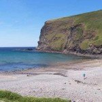 Crackington Haven beach 10 mins from Meadowview Cottage a luxury cottage Cornwall