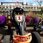 Just one of many ride-on toys for your children to enjoy at our luxury cottage Cornwall