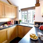 Fully equipped kitchen at Meadowview Cottage a luxury cottage Cornwall