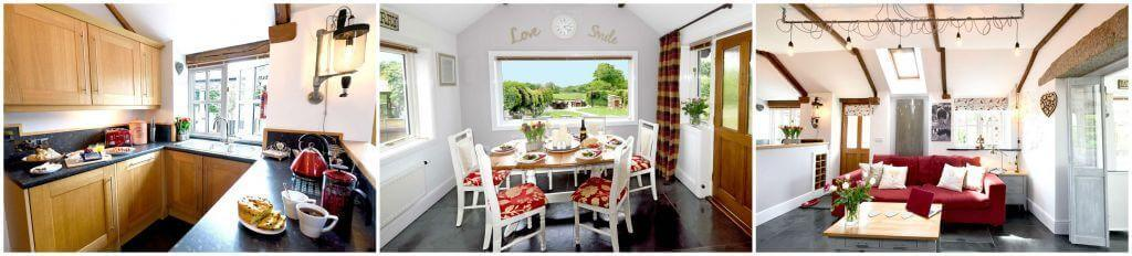Meadowview Cottage spacious comfortable living areas for a luxury cottage Cornwall holiday. Luxury toddler friendly holiday cottage. A Visit England 5 star gold luxury self catering holiday cottage in Cornwall. Luxury family friendly cottages with Child friendly facilities