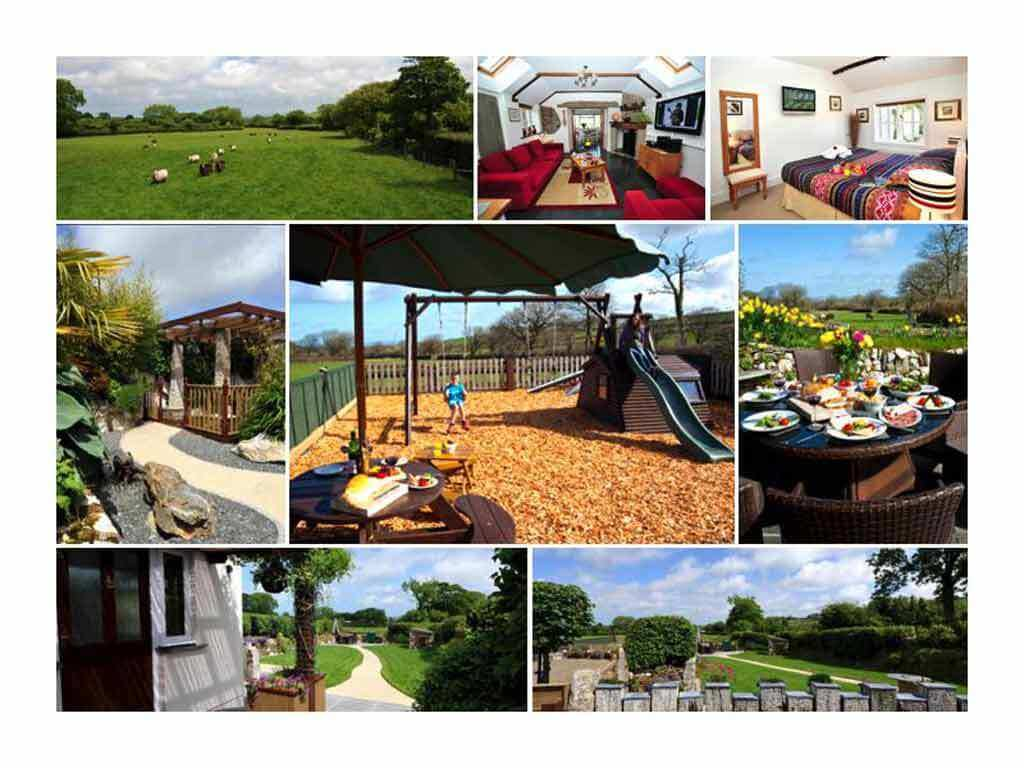 A snapshot of some of what Meadowview Cottage has to offer; our luxury cottage Cornwall