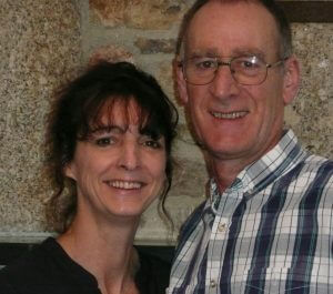 Roger and Debbie owners of Meadowview 5 star Holiday Cottages Cornwall