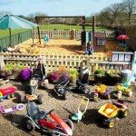 Private Play Park and extensive range of toys for your exclusive use at Meadowview Cottage a luxury cottage Cornwall