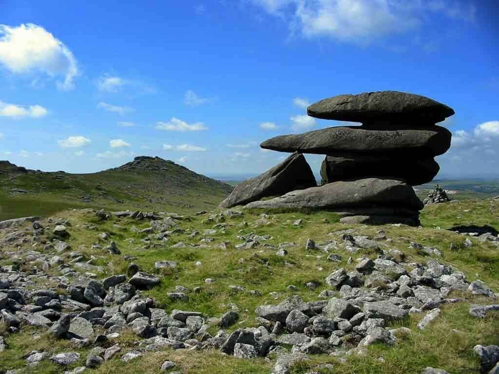 Roughtor second highest point in Cornwall, 10 mins from Meadowview cottage, our luxury cottage Cornwall
