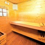 Private Sauna for your exclusive use at Meadowview Cottage a luxury cottage Cornwall