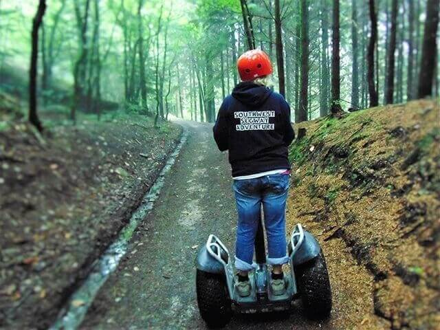 Segway Adrenalin holiday activities Meadowview Cottage North Cornwall