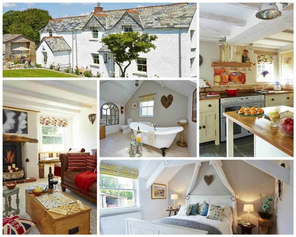 The Cottge is a Luxury cottage Cornwall, also available from Luxury Cornwall Holiday Cottages our sister website