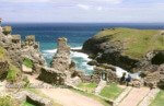 Tintagel Castle 20 mins from Meadowview Cottage our luxury cottage Cornwall