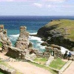 Tintagel Castle 20 mins from Meadowview Cottage a luxury cottage Cornwall