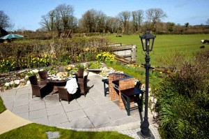BBQ-area-and-Play-Park-luxury cottage Cornwall Cornwall Self Catering Luxury