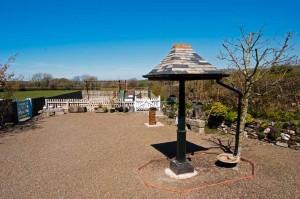 Bird Feeding and ROSPA play park luxury holiday accommodation in Cornwall