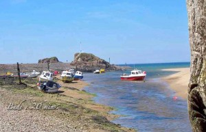 luxury Cornwall self catering near Bude beach one of two at Bude, North Cornwall 20 mins from our luxury cottage Cornwall