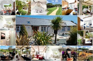 A collage of our beautiful luxury holiday cottage