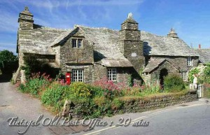luxury Cornwall self catering Medieval Post Office, Tintagel, 20 mins from our luxury holiday cottage Cornwall