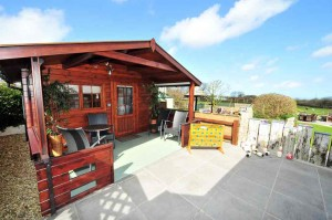 Sauna-Play-Park-and-Garden-Meadowview-Cottage-Luxury cottage Cornwall Cornwall Self Catering Luxury
